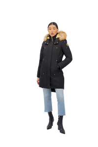 MOOSE KNUCKLES GRAND METIS PARKA Womens Apparel