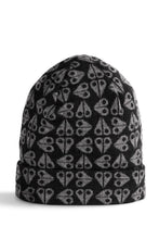 MOOSE KNUCKLES LOGO BEANIE Mens Accessories