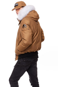 MOOSE KNUCKLES BALLISTIC BOMBER MENS APPAREL