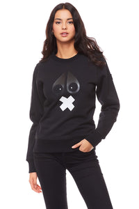 MOOSE KNUCKLES X-MARK SWEATSHIRT Womens Apparel