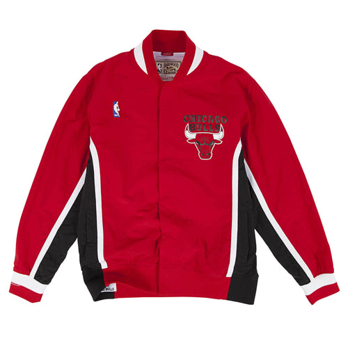 Mitchell & Ness Authentic Warm Up Jacket Chicago Bulls 1992-93 Mens Apparel