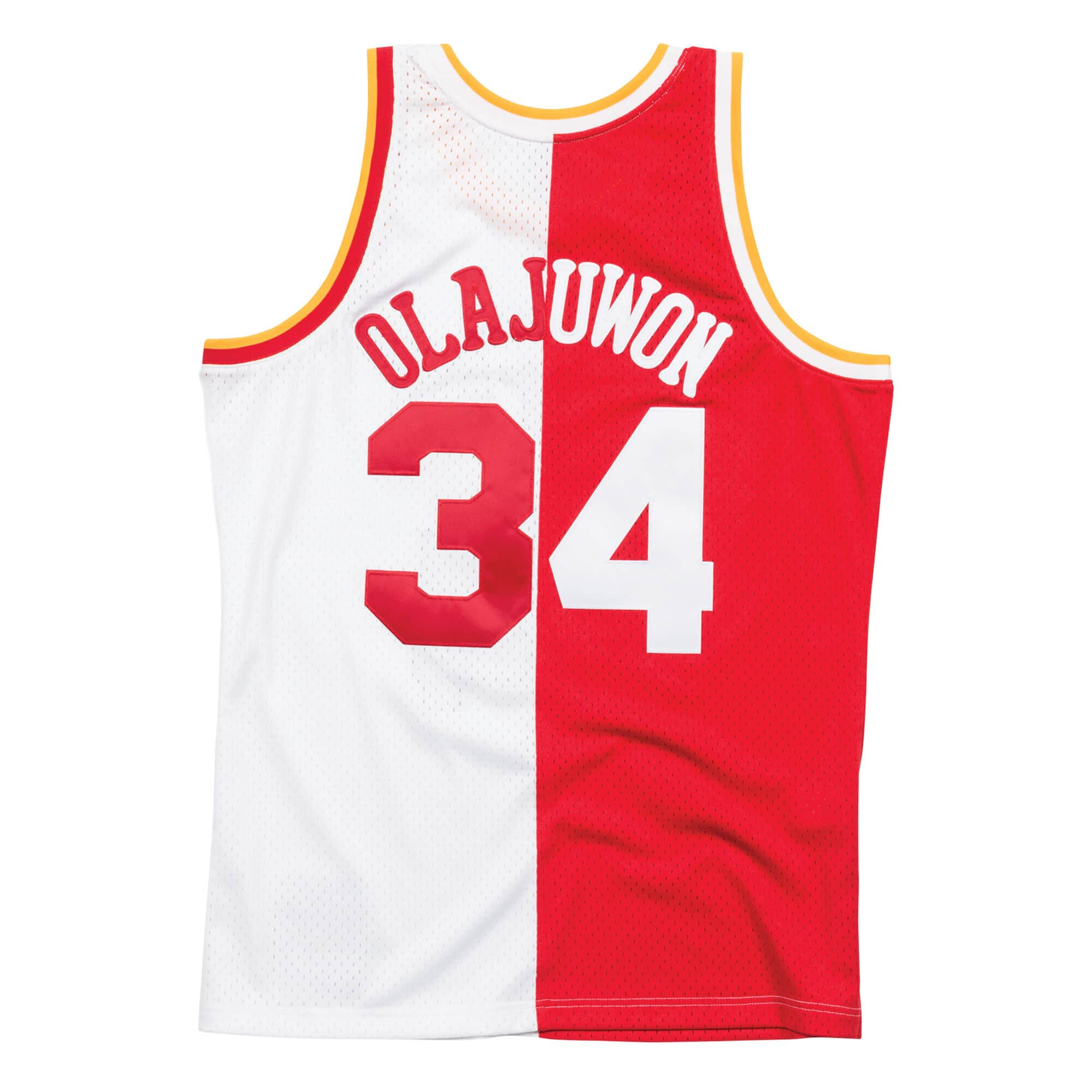 cheap for discount d4be1 5d7b2 Mitchell & Ness Split Home & Away Swingman Jersey Houston ...