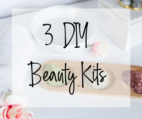 3 DIY Beauty Kits