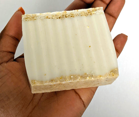 Loving Liz Exfoliating Body Bar - Oatmeal Honey Lavender