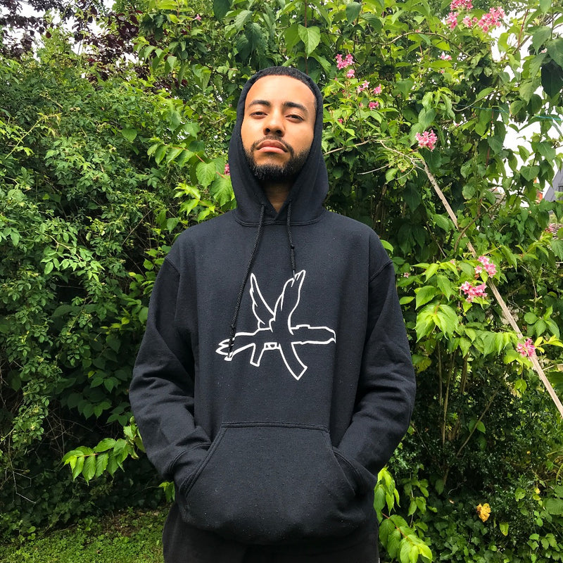 Sweat | Sweat-Shirt noir Columbine