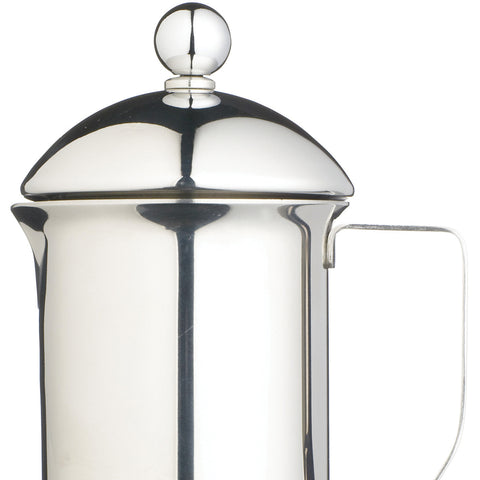 Eight Cup Single Walled S/S Cafetiere