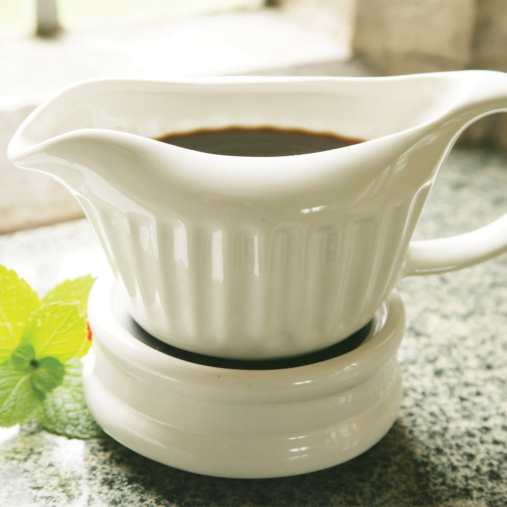 Electric Gravy Boat & Stand