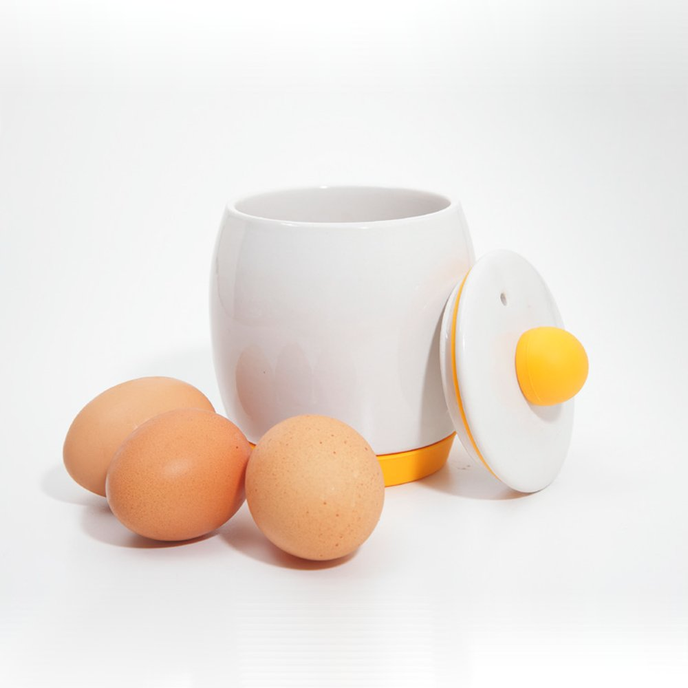 CERAMIC MICROWAVE EGG MAKER