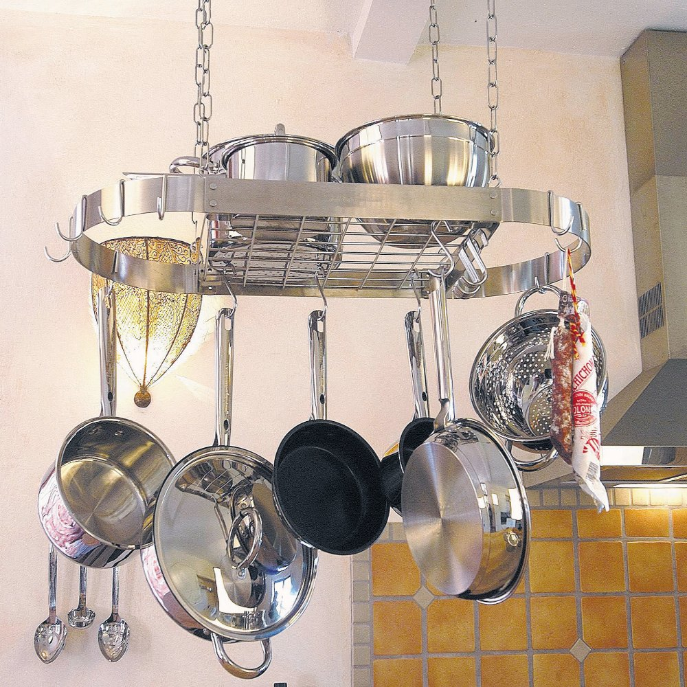 Stainless Steel Ceiling Hanging Rack