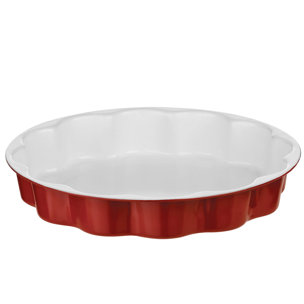 29cm Eco-friendly Eco-Cook Non- Stick Ceramic Flan Dish