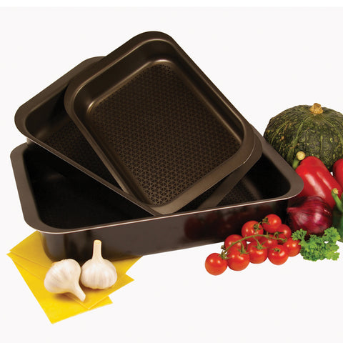 Set of 3 Lasagna Roaster 35x25cm