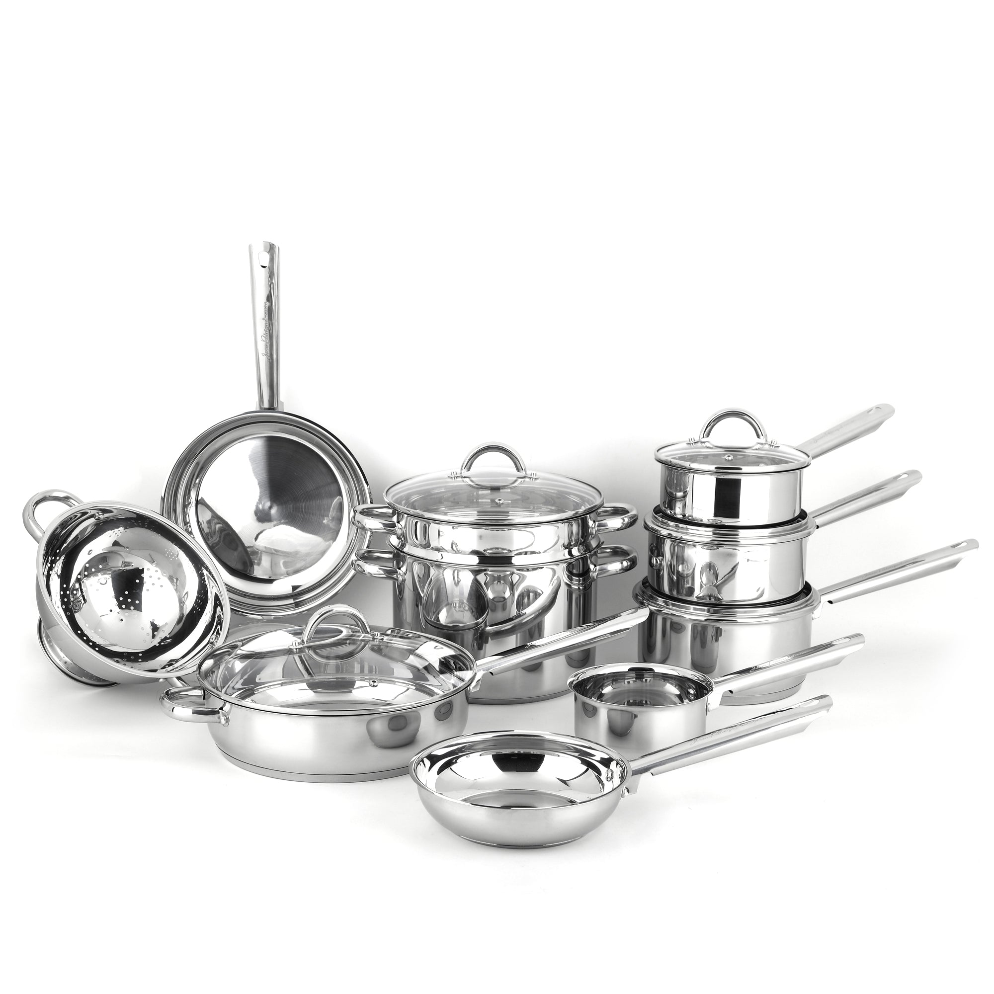 Professional Cookware Set - 15 Piece