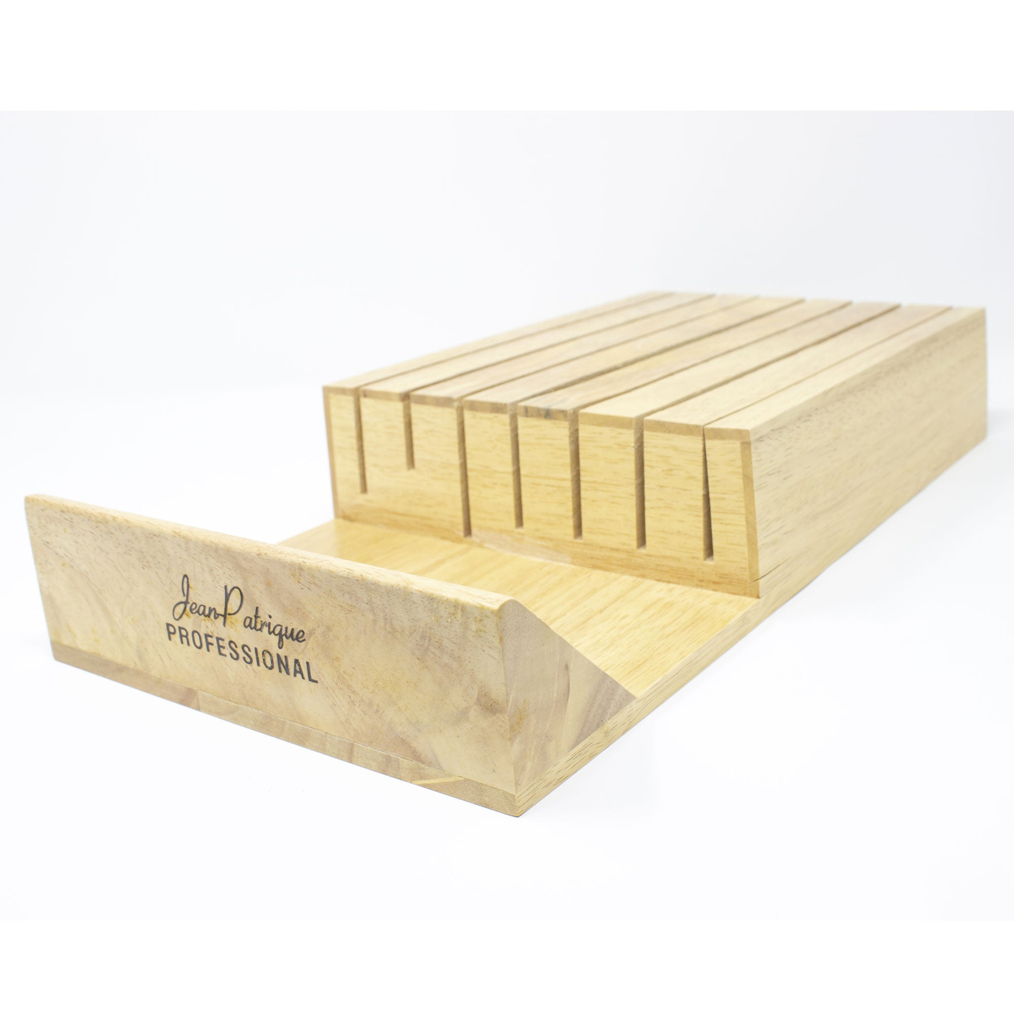 7-slot Kitchen Drawer Wooden Knife Tray
