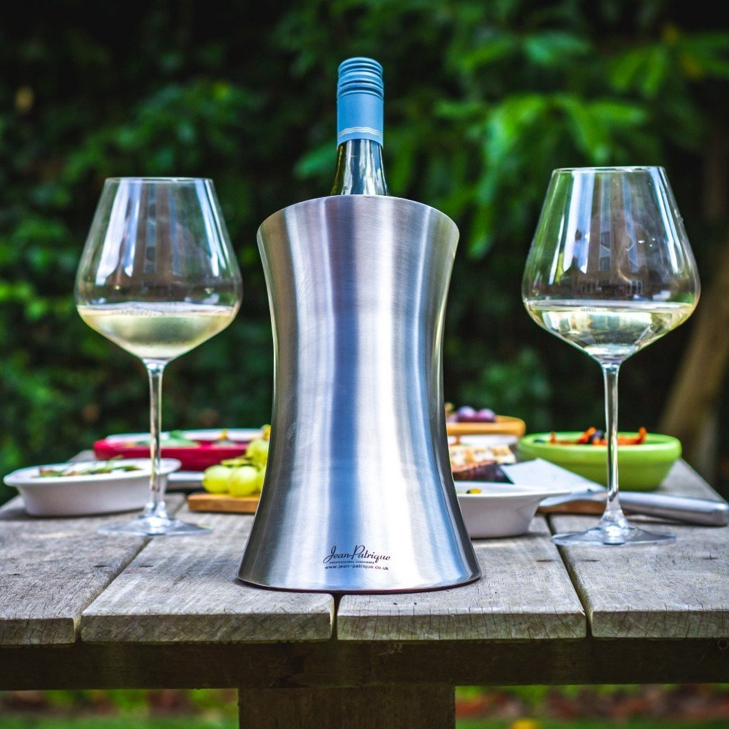 Wine & Champagne Chiller - Stainless Steel