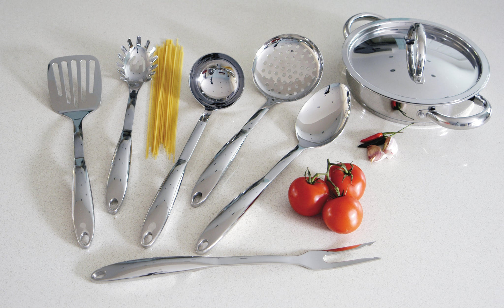 6-Piece Specialty Stainless Steel Utensil Set