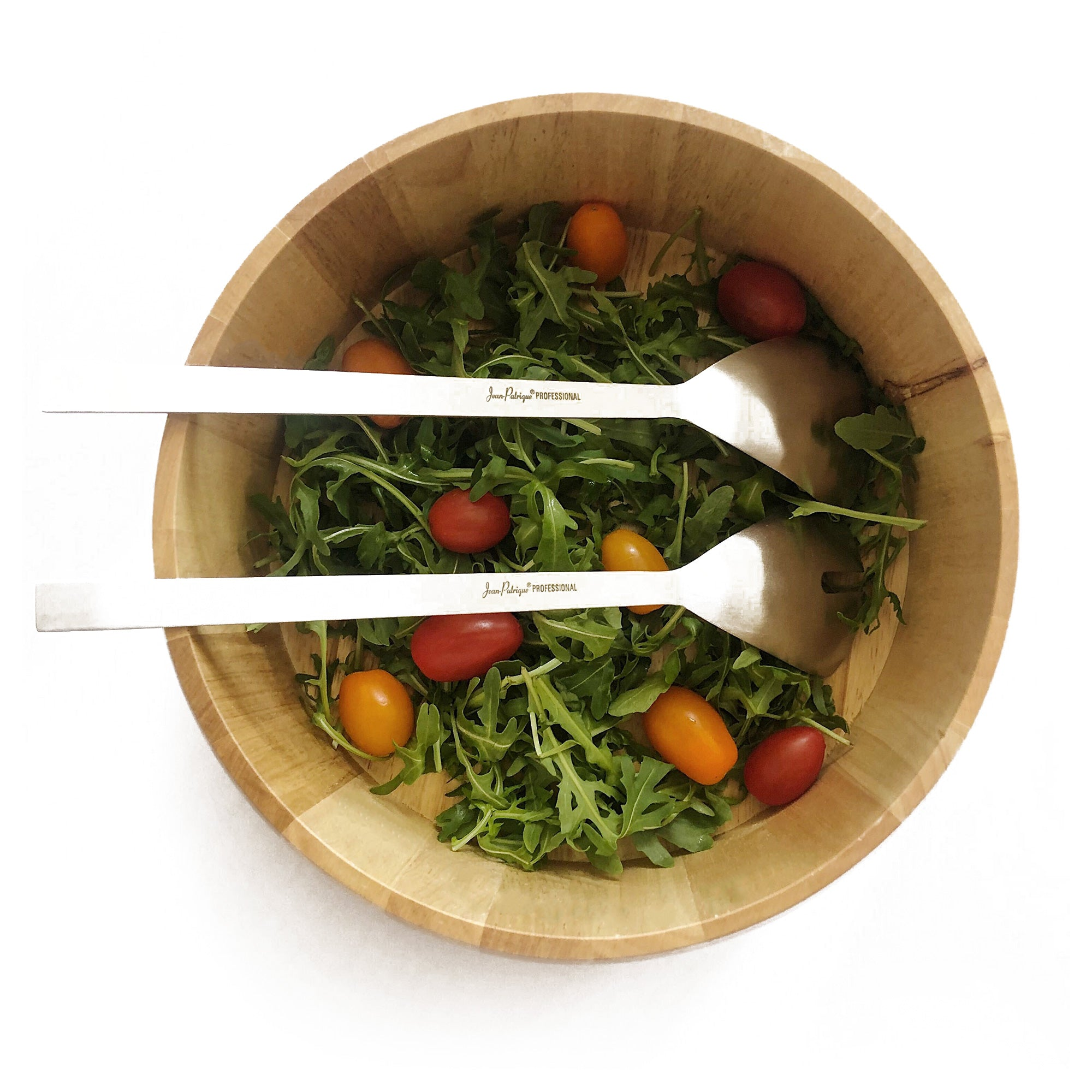 Salad Bowl & Stainless Steel Salad Servers