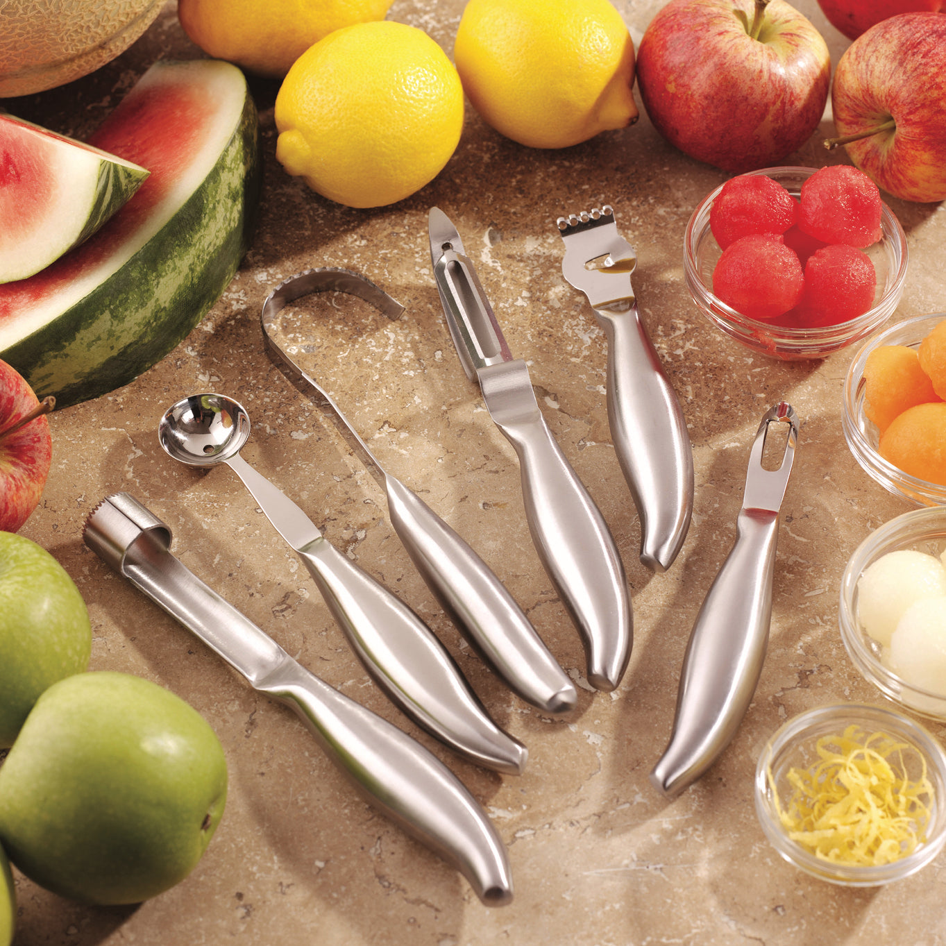 Stainless Steel Kitchen Utensils Set for Garnishing
