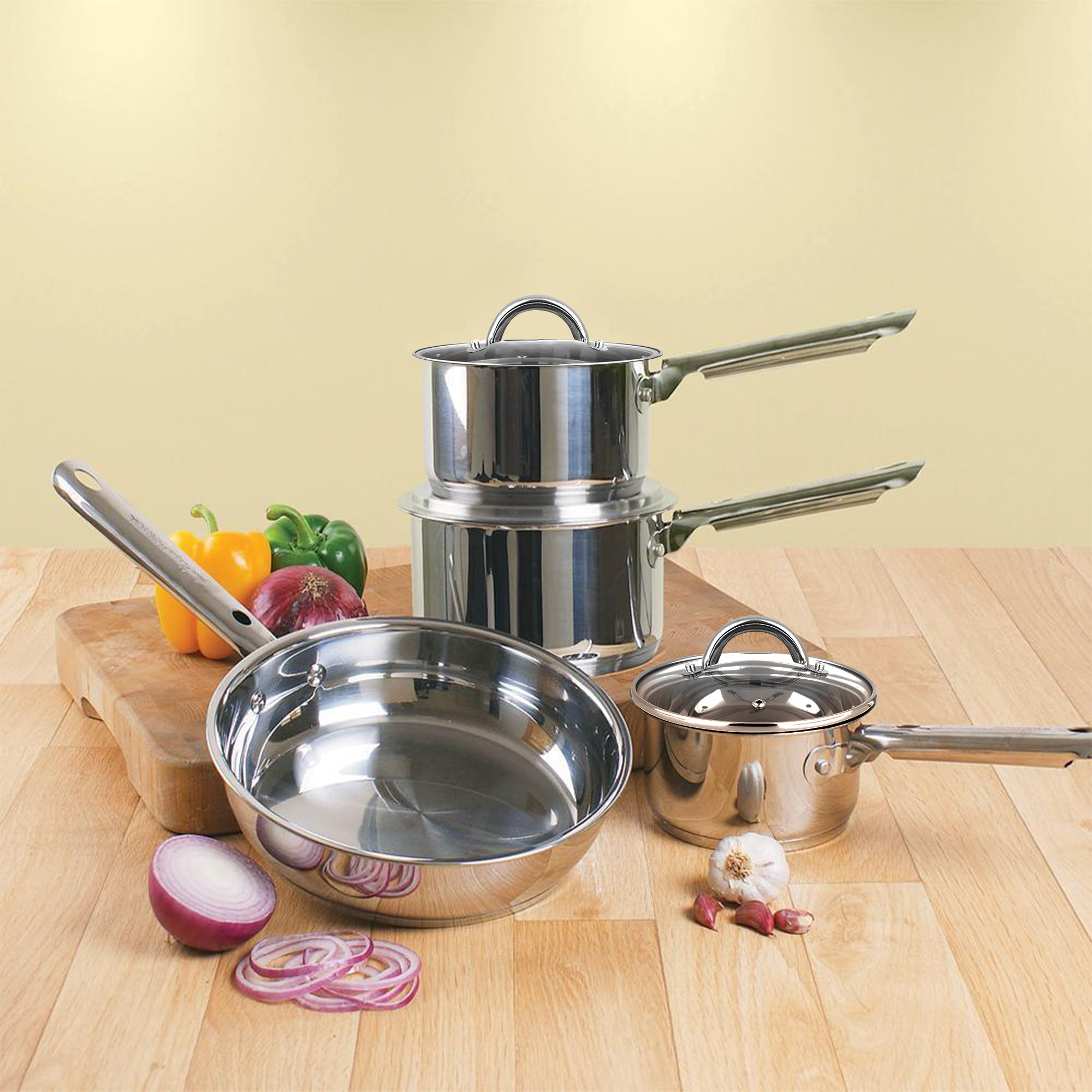 Professional Cookware 6-Piece Set