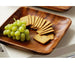 Premier Tropics Solid Wood Square Serving Platter