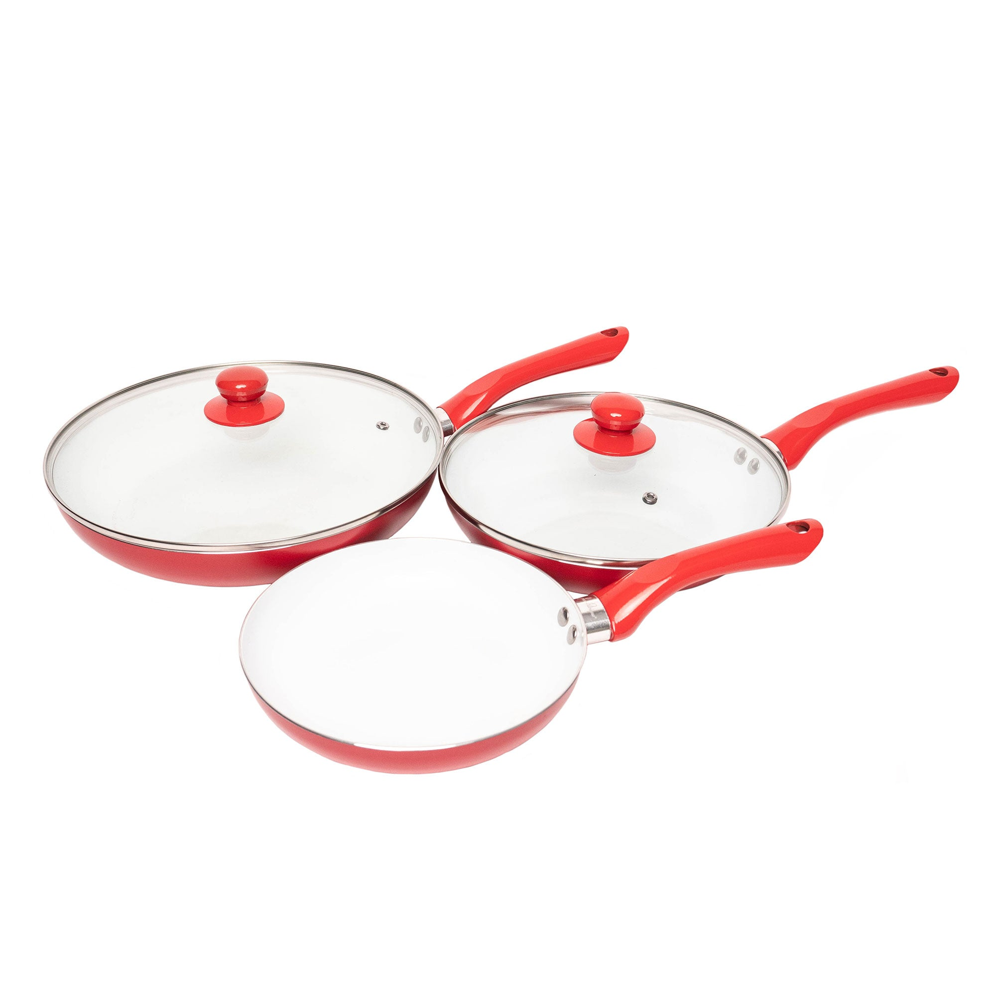 Bio Supreme Ceramic Frying Pan Set