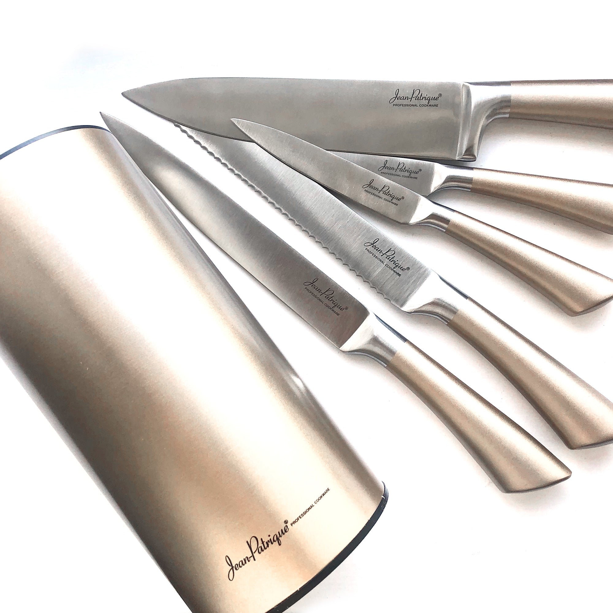 Midas Collection 5 Piece Knife Set with Block
