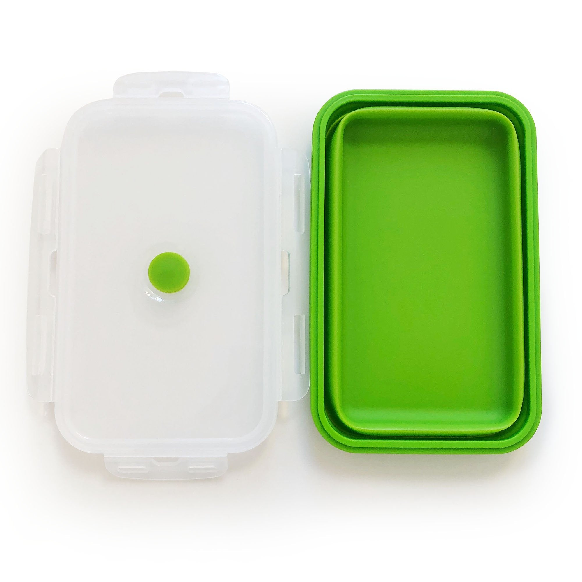 Silicone Food Storage Containers - Set of 4