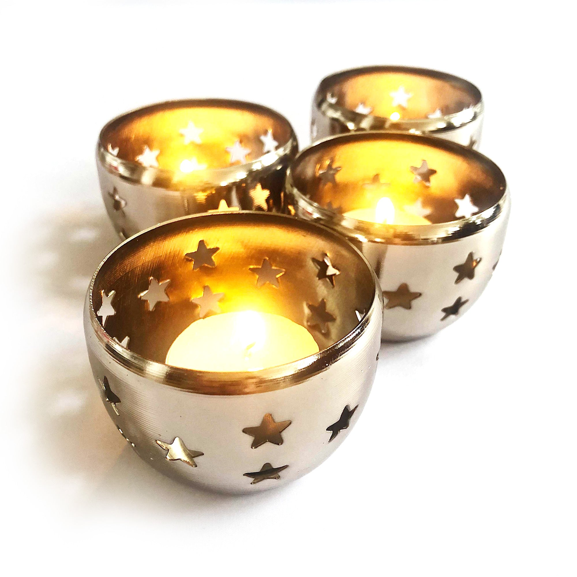 4x Tealight Holders