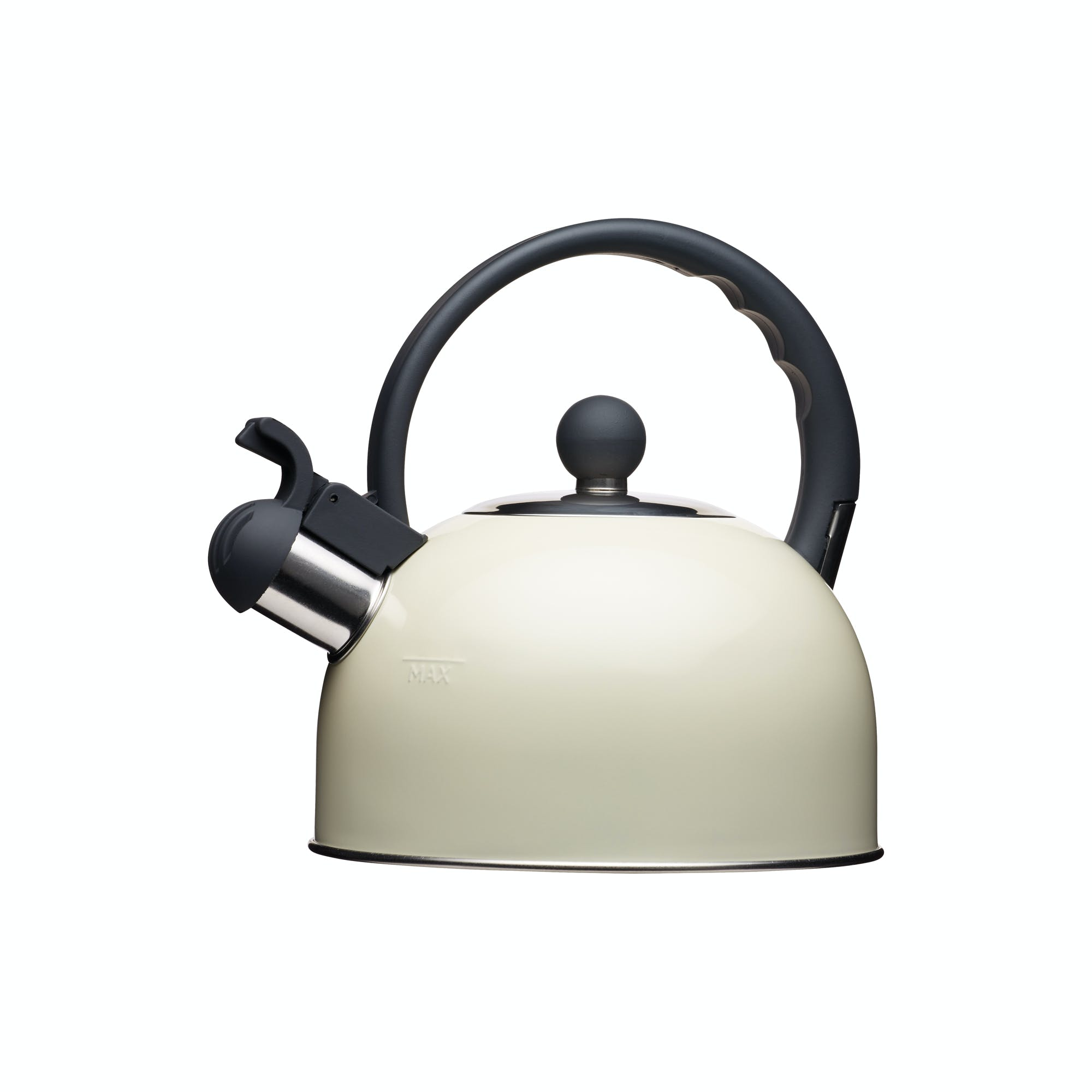 Kitchencraft Cream 1.4L Whistling Kettle