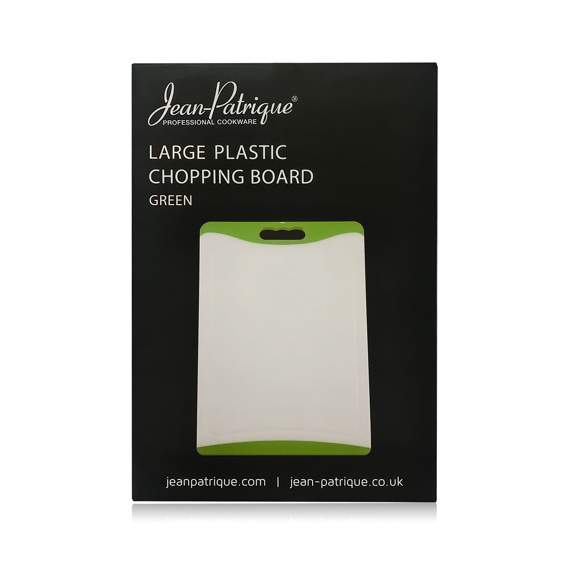 Large Plastic Chopping Board - Green 43cm
