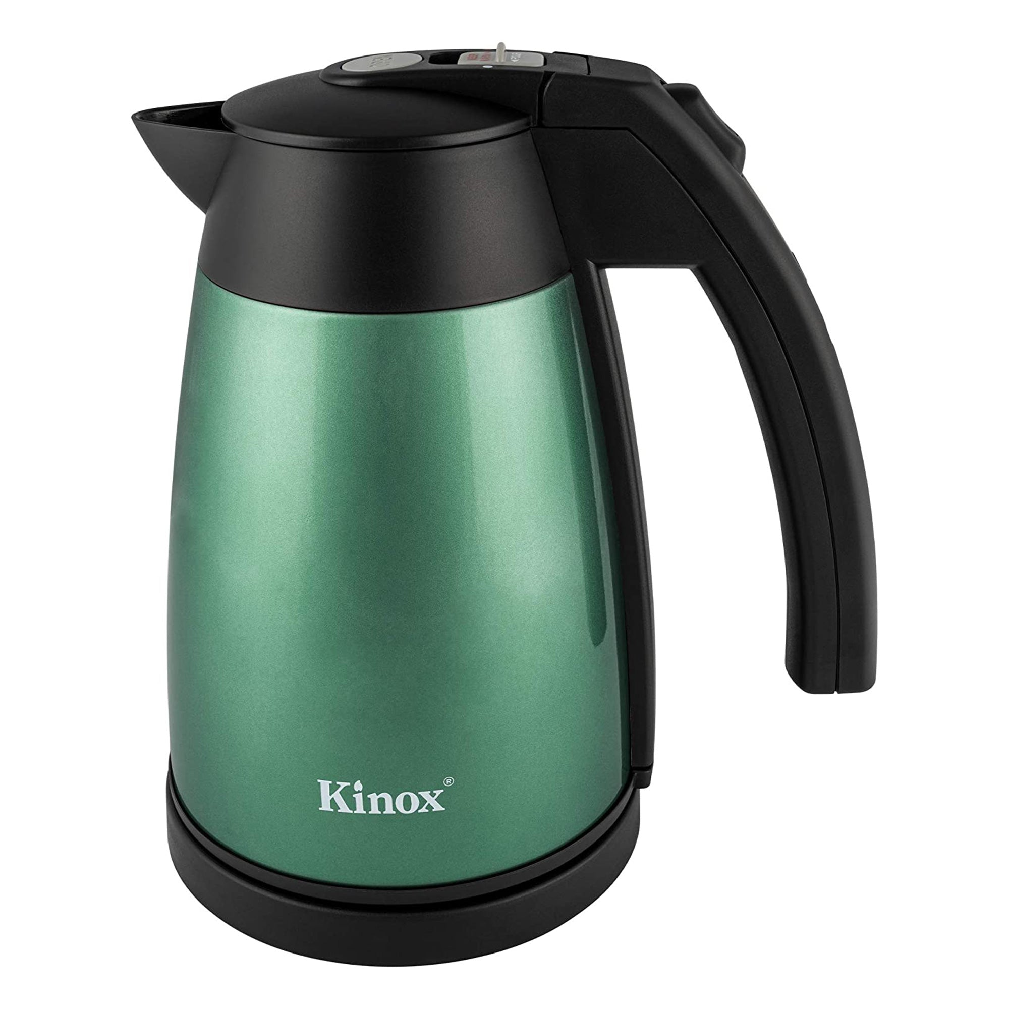 Kinox 1L Vacuum Electric Kettle Double Walled - Green