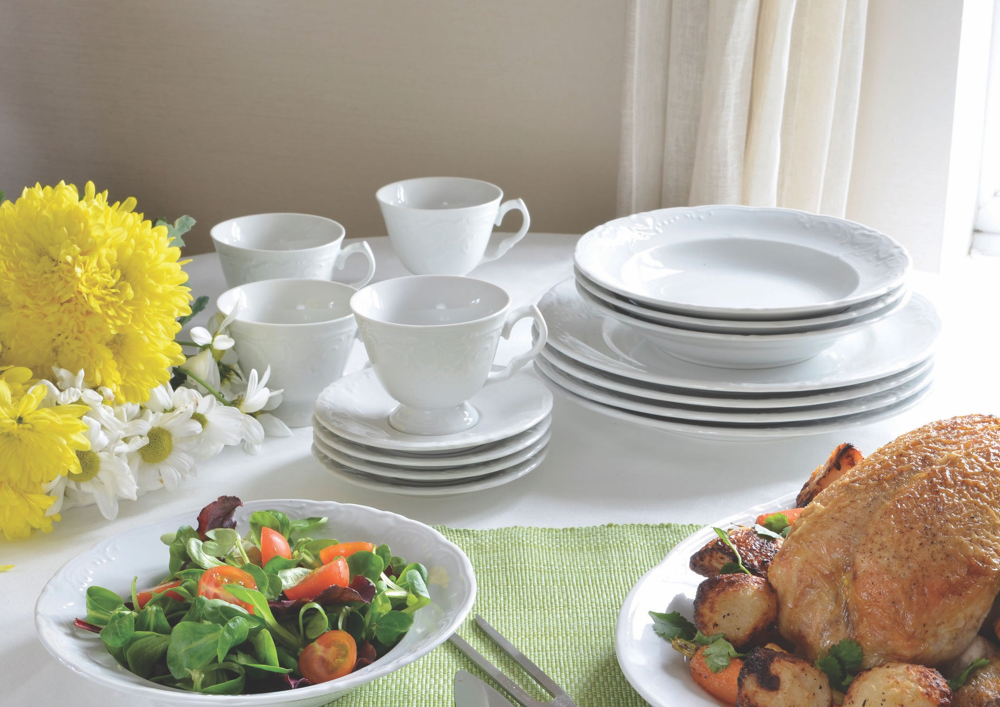 Canterbury Collection Soup Plates