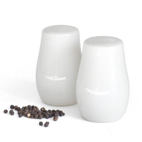 Porcelain Salt & Pepper