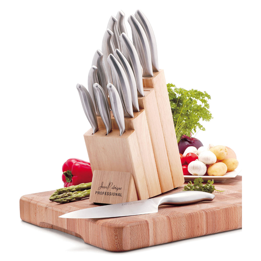 14 Piece Knife Set with Wooden Block