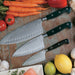 Chef's Essential 3-Piece Stainless Steel Knife Set
