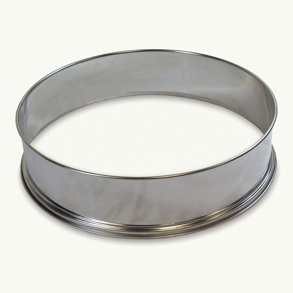 Stainless Steel Extender Extension Ring Accessory for 10-12 Litres Halogen Ovens