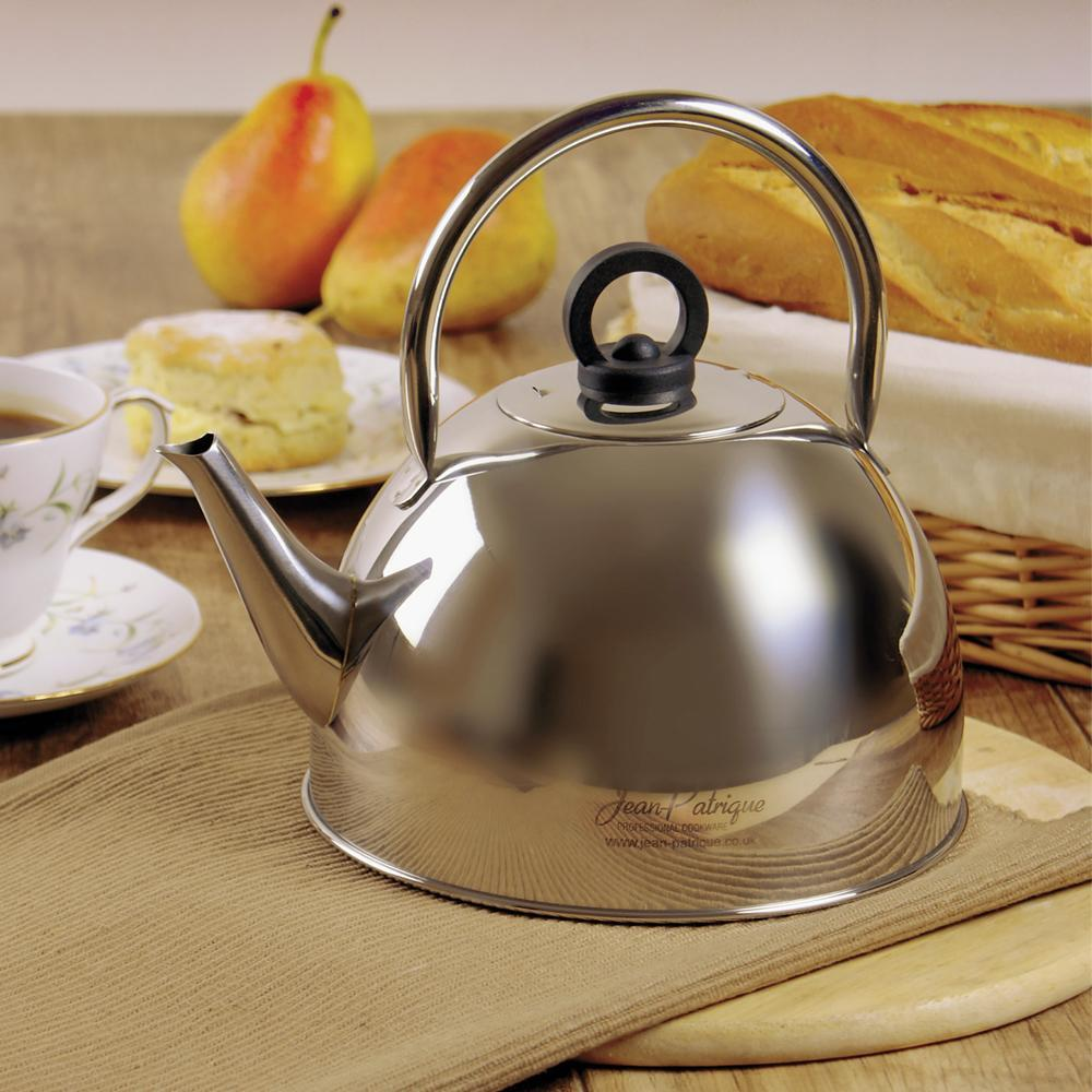 1.6L Classic Polished Stainless Steel Kettle