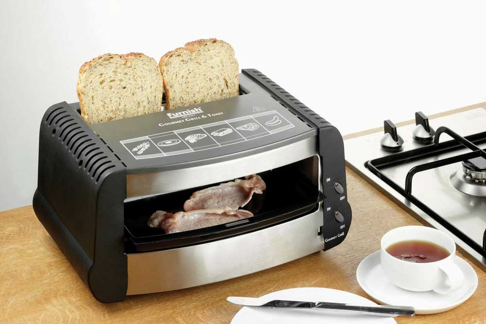 Multi-Use Grill, Toaster & Snack Maker