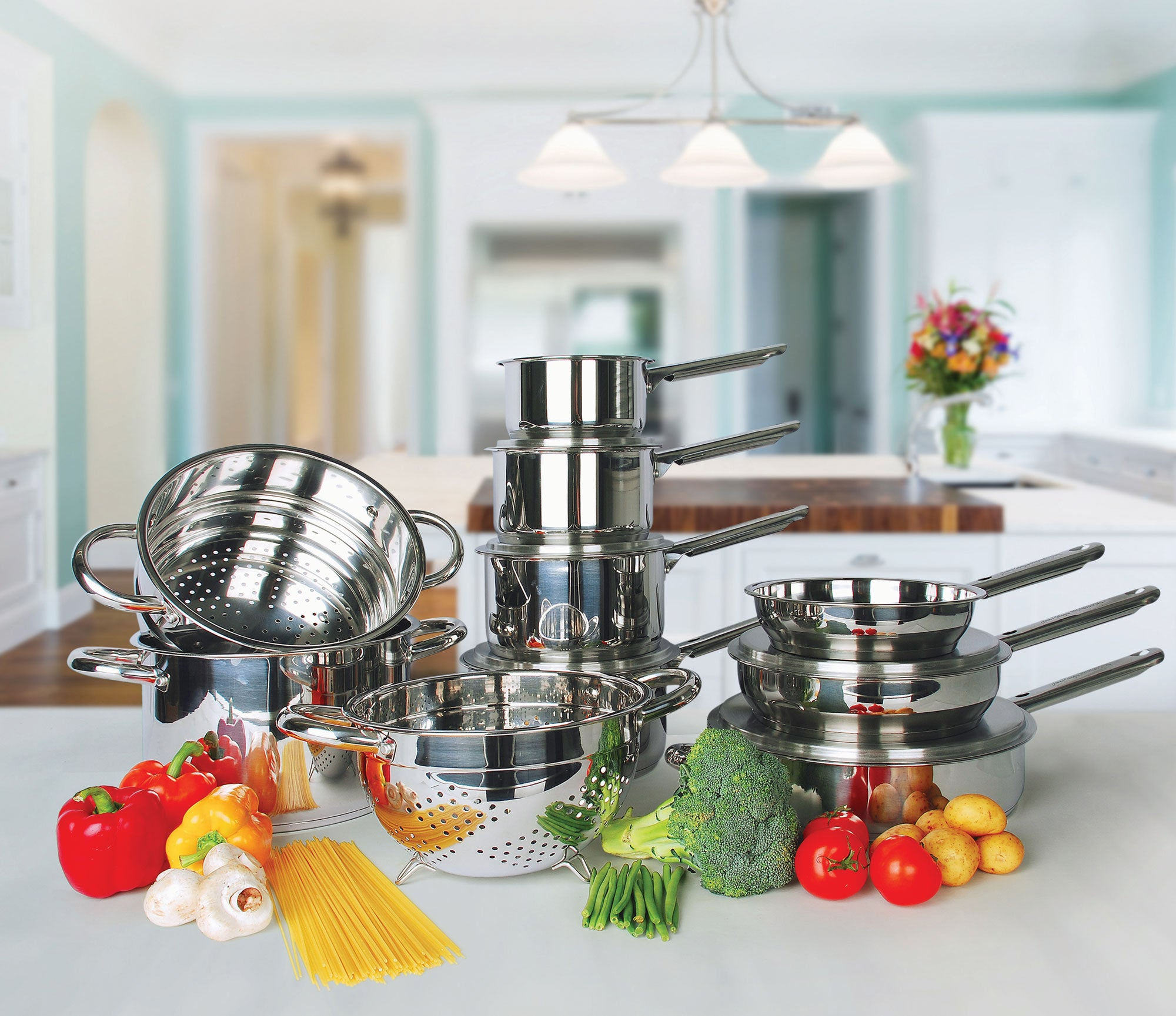 Professional Cookware 15 Piece Set