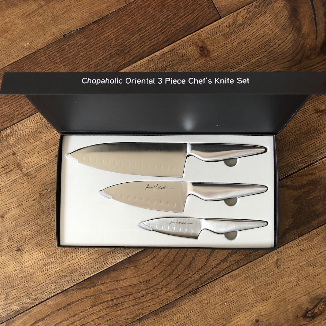 Chopaholic Oriental 3 Piece Chef's Knife Set