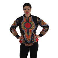 Apparel - Dashiki Bomber Jacket