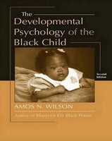 Books - The Developmental Psychology Of The Black Child