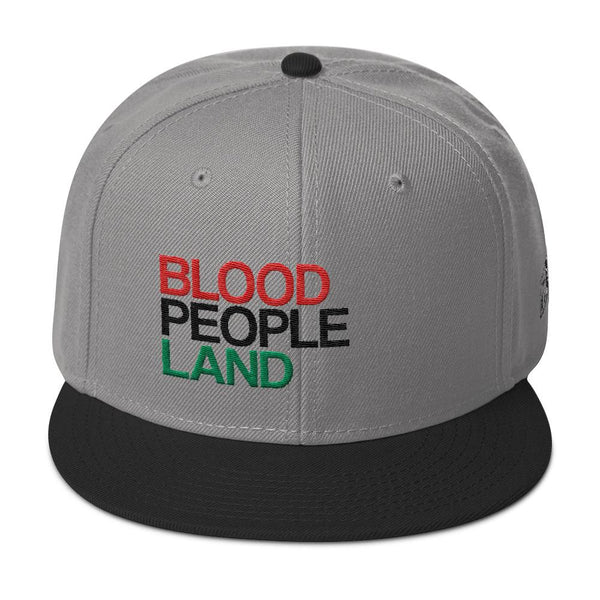 Hats - Blood People Land Snapback