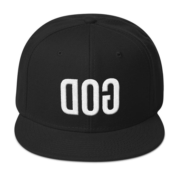 Hats - GOD Snapback Hat