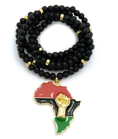 Afrika Fist Necklace
