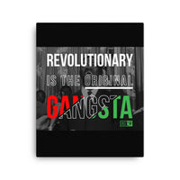 Revolutionary OG Lumumba - Canvas Print