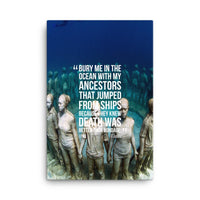 Posters - Bury Me Canvas Print