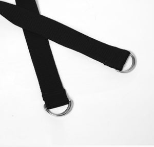 2-in-1 Yoga Mat Strap - Black - Flux Movement