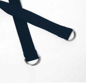 2-in-1 Yoga Mat Strap - Navy Blue - Flux Movement