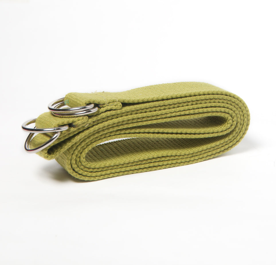 2-in-1 Yoga Mat Strap - Lime Green - Flux Movement