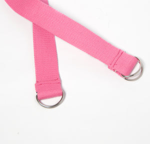 2-in-1 Yoga Mat Strap - Pink - Flux Movement